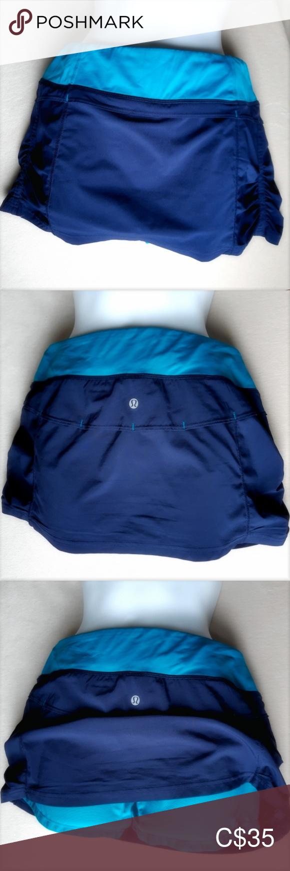 Lululemon Athletica Running Skirt   Tennis Skirt New Lululemon Athletica Running…