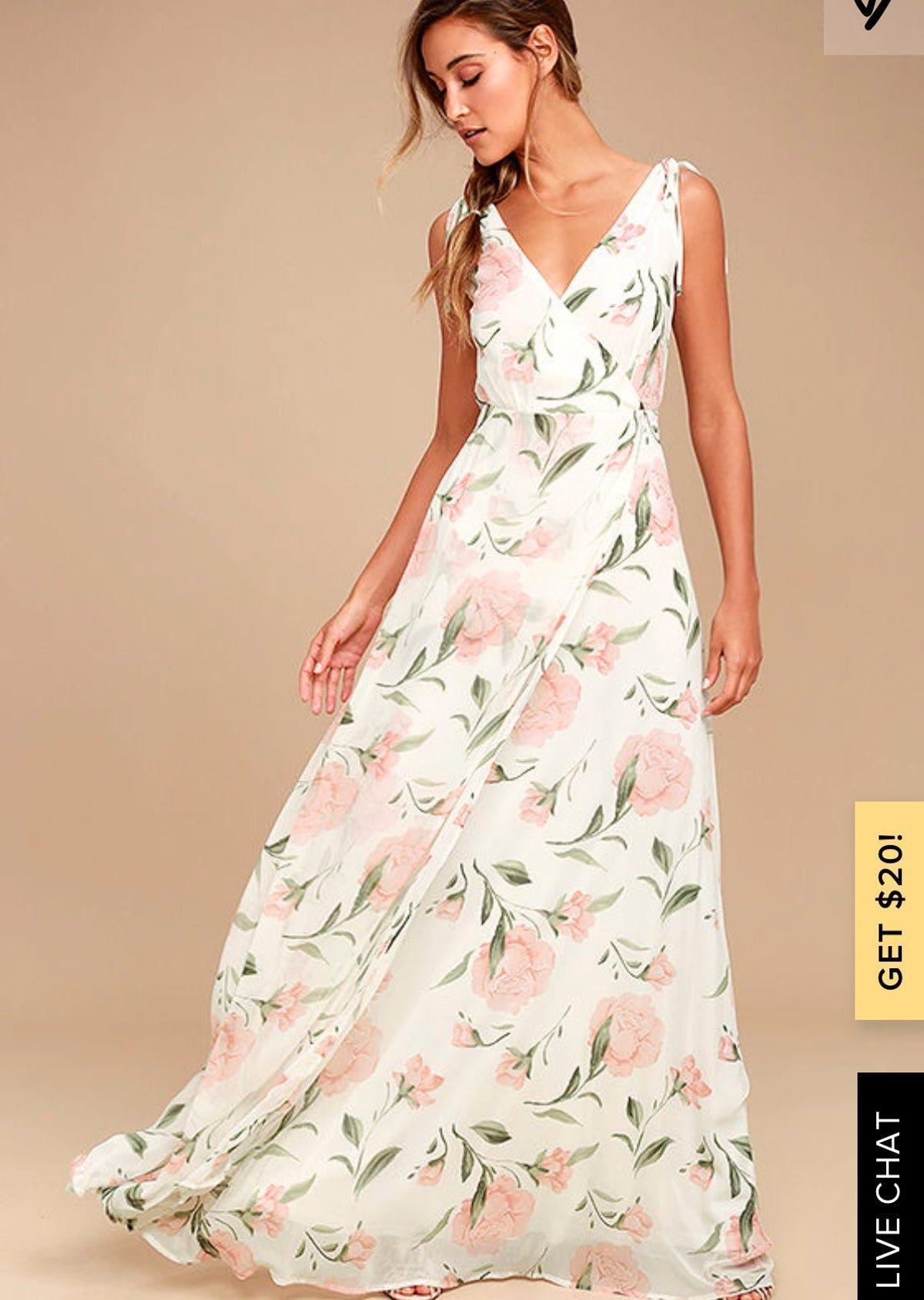 Lulus Romantic Possibilities Dress