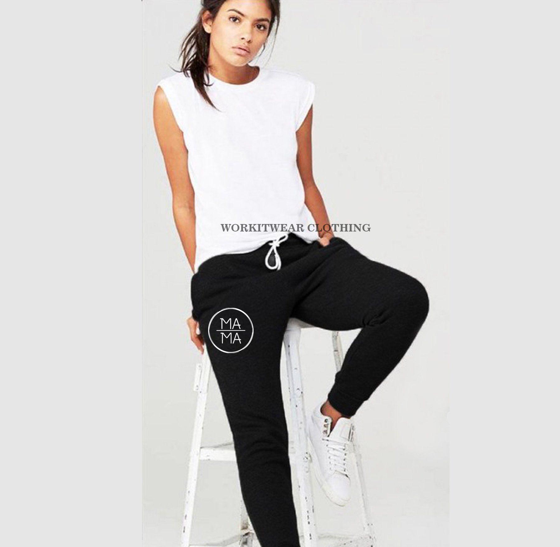MAMA Joggers. Loungewear. Mama Sweatpants. Cute Joggers. Mom Apparel. Mom Life. Mom Sweatpants. Gift for Mom. Mom Apparel. COZY
