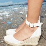 MARC BY MARC JACOBS 'Summer Breeze' Lambskin Leather Espadrille Wedge Sandal (Wo...