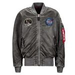 Ma-1 apollo battlewash flight jacket