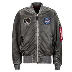 Ma-1 apollo battlewash flight jacket
