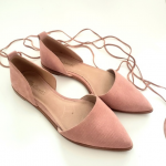 Madewell | Blush Pink Lace Up Flats Beautiful lace up Madewell flats  Size: 8 Co...