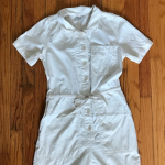 Madewell Utility Jumpsuit White utility jumpsuit from Madewell. Only worn once! ...