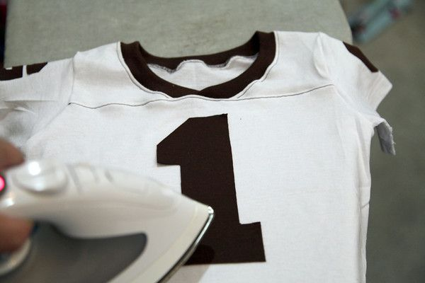 Make a Football Jersey from a T-shirt