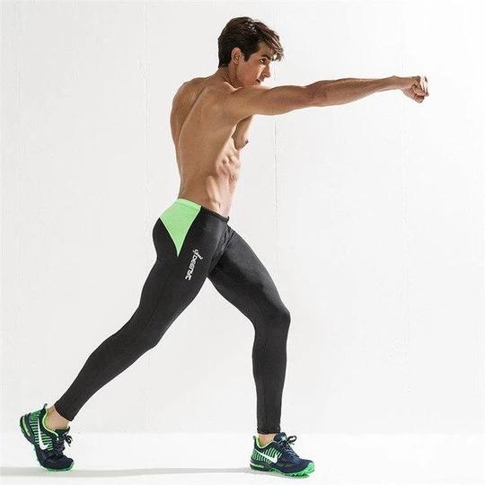 Man Leggings Sweat Pants Clothing Men's Sweatpant Man Leggings Tights Slim Quickliligla