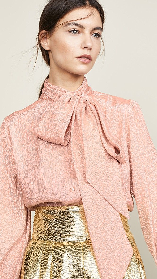 Marc Jacobs Tie Neck Blouse | SHOPBOP