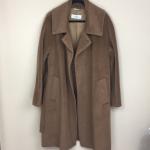MaxMara Wool & Alpaca Cozy Belted Camel Coat MaxMara. Camel/brown color wool and...