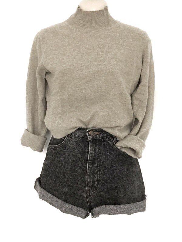 Mein Clean Chic 100% Kaschmir Cashmere Pullover Rollkragen Pulli Blogger Cozy  v…