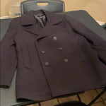 Men's H&M Pea Coat size 40R black Men's H&M Pea Coat size 40R black   Please...