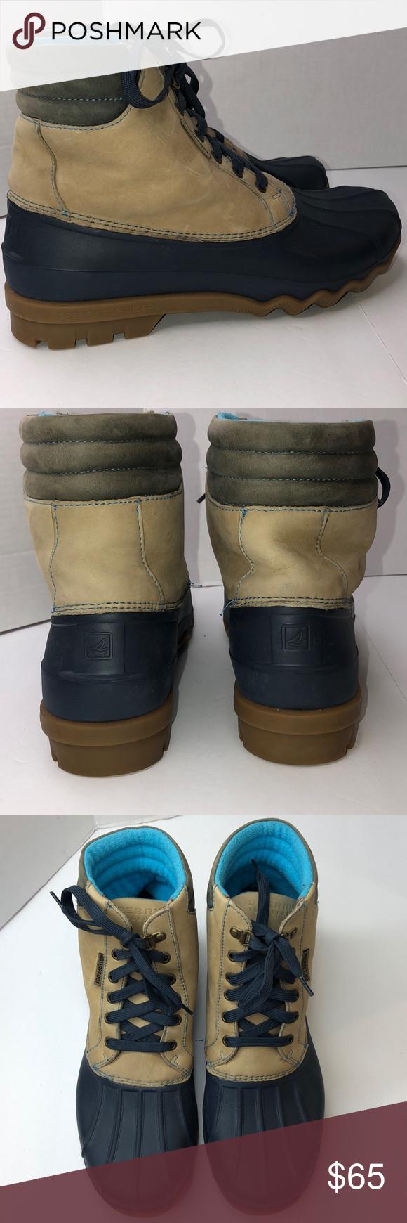 Men's Sperry Top-Sider waterproof boots Sz. 10.5M Sperry Top-Sider waterproof …