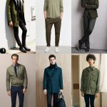 Men's 2015 Autumn/Winter Fashion Trend Preview: Subdued/Military Green Clothing ...