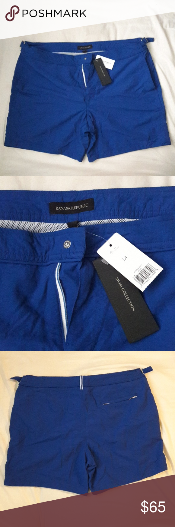 Men's  Banana Republic swim shorts. ‍♂️‍♂️ Men's 6″ Tailored S…