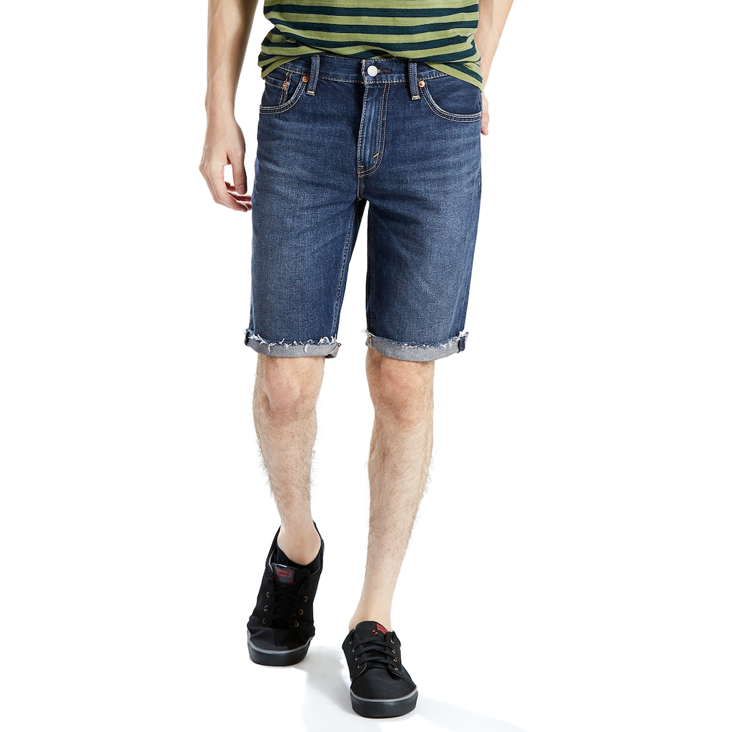 Men's Levi's 511 Slim-Fit Cutoff Denim Shorts, Size: 44, Dark Blue