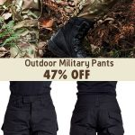 Mens Outdoor Military Tactical pants Camo Printing Breathable Wear-resistant Cas...