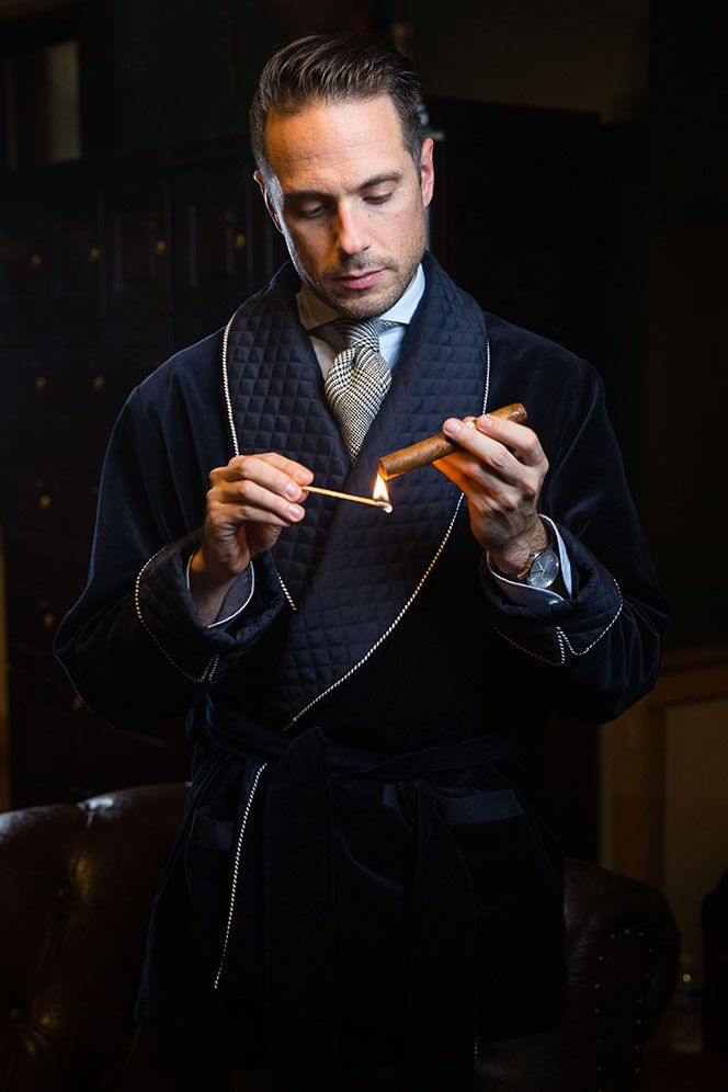 Men's Smoking Jacket History and Definition