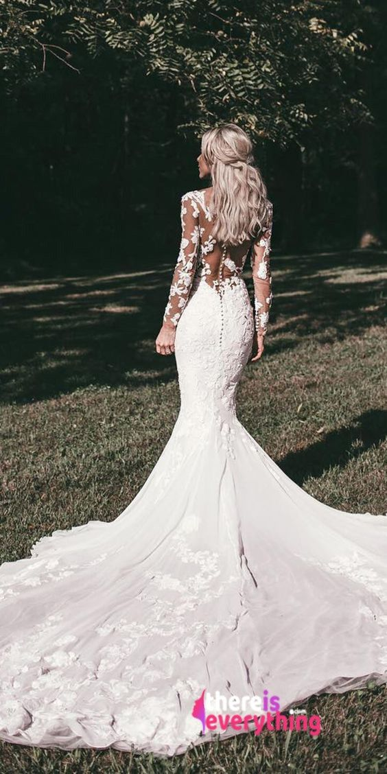 Mermaid Wedding Dresses 2018 – 2019