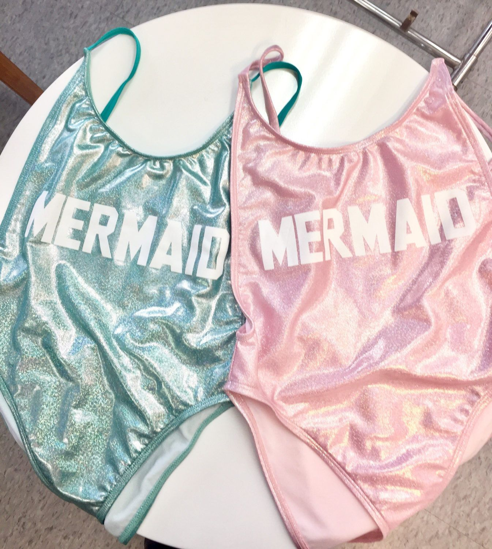 Mermaid vintage one piece swimsuit Suit- High Cut Vintage Swimsuit – One piece – Swimwear Women's Sexy Bathing Suit by CakeLife®