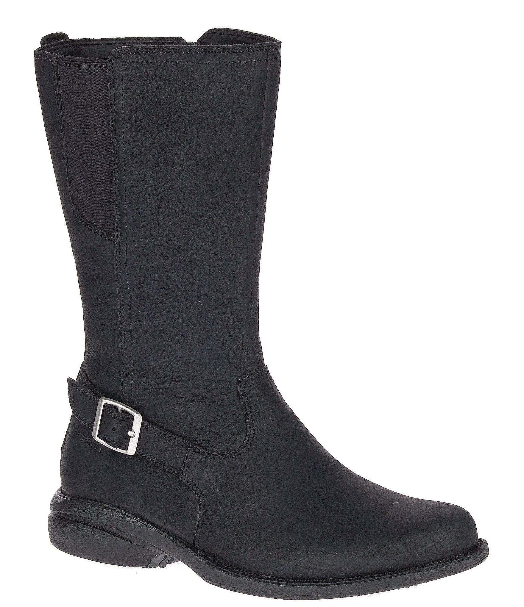Merrell Women's Andover Peak Waterproof Boots – Black 7.5M