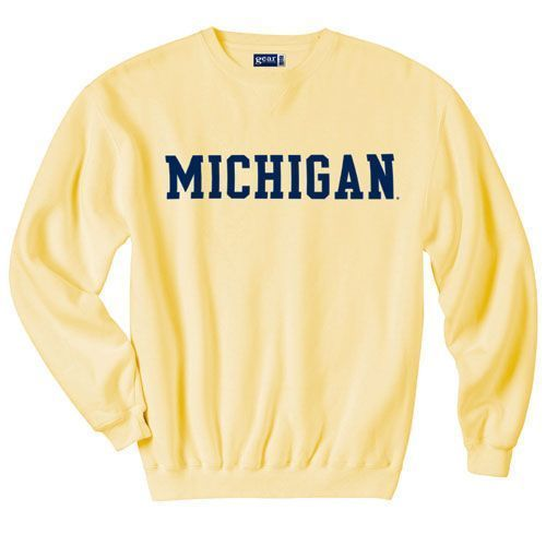Michigan Sweatshirt EM01