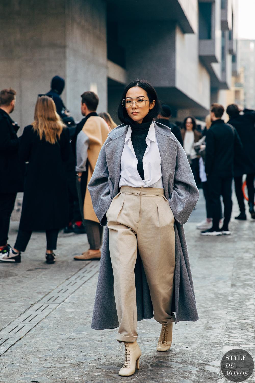Milan FW 2019 Street Style: Yoyo Cao – STYLE DU MONDE | Street Style Street Fashion Photos Yoyo Cao