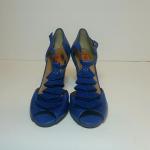 Miz Mooz Sailor Blue T-Strap Heels Size 6.5 Miz Mooz Sailor Blue Leather Heels. ...
