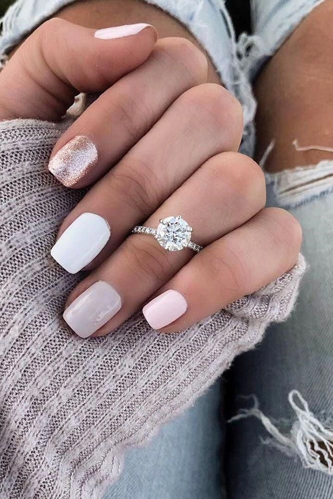 Moissanite engagement ring women vintage rose gold Unique halo antique Cluster Flower Bridal Jewelry Floral promise Anniversary gift for her – Fine Jewelry Ideas