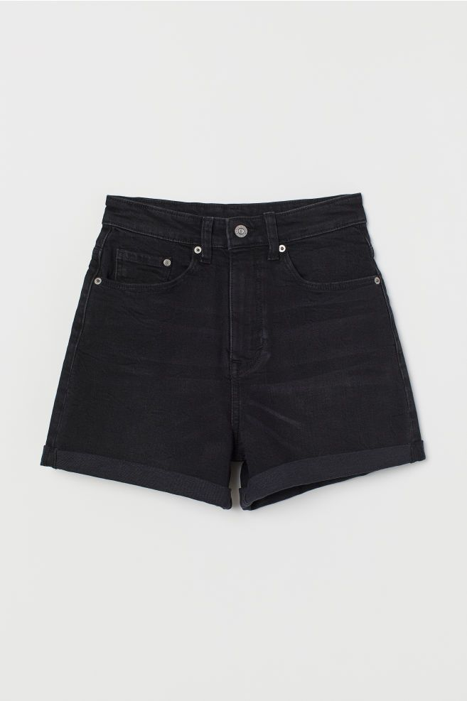 Mom Shorts High Waist