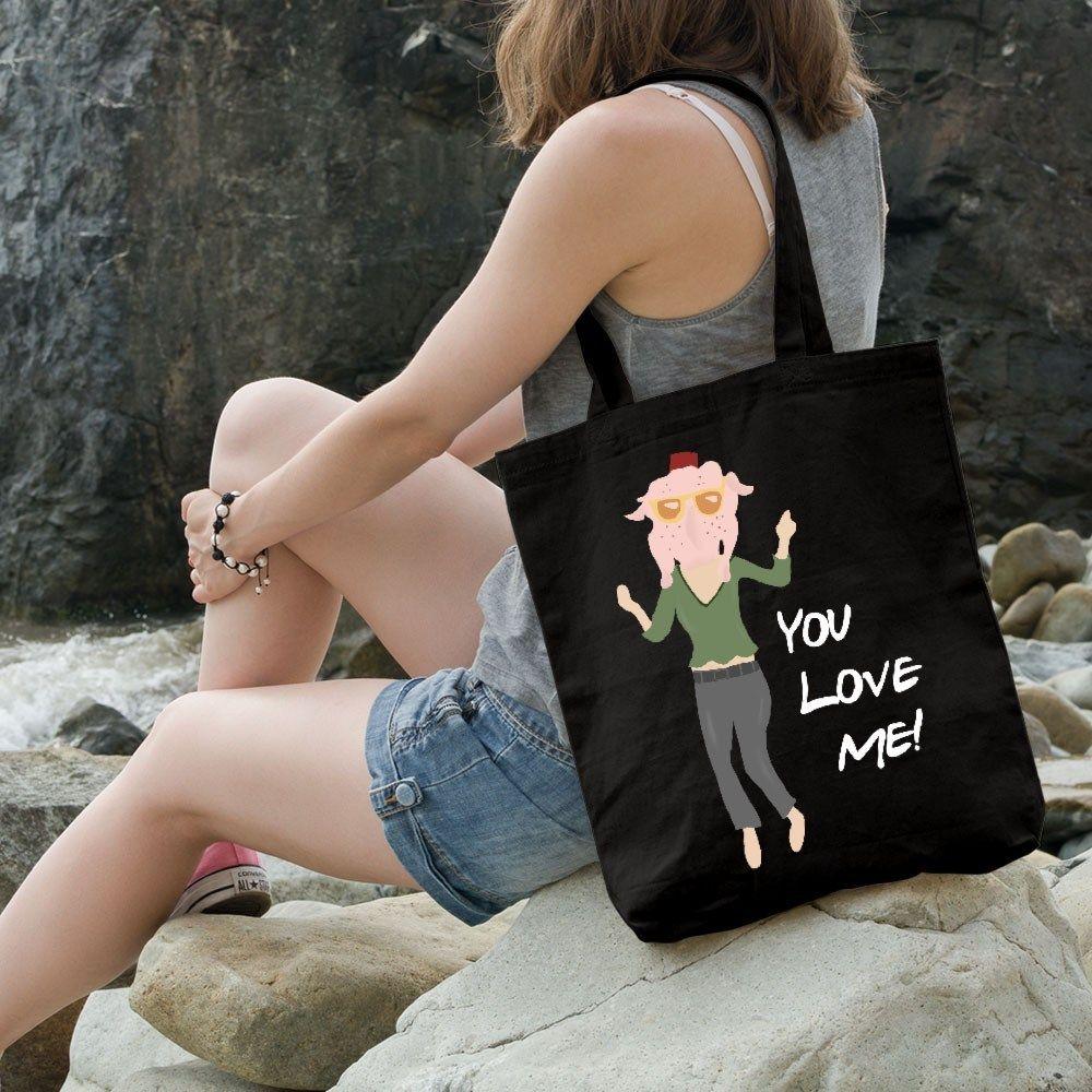 Monica Wear A Turkey You Love Me F.R.I.E.N.D.S Tote Bag