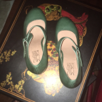 Mootsies Tootsies Green Mary Janes, size 7 New never worn Mootsies Tootsies gree...