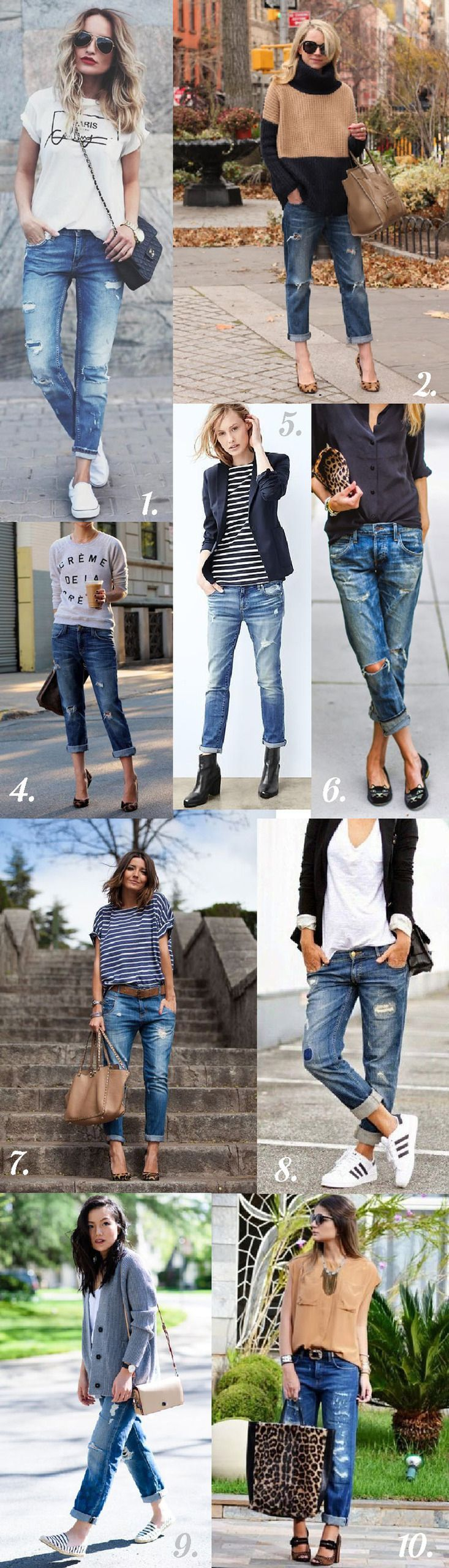 Morgan Boyfriend Jeans // Styling Inspiration