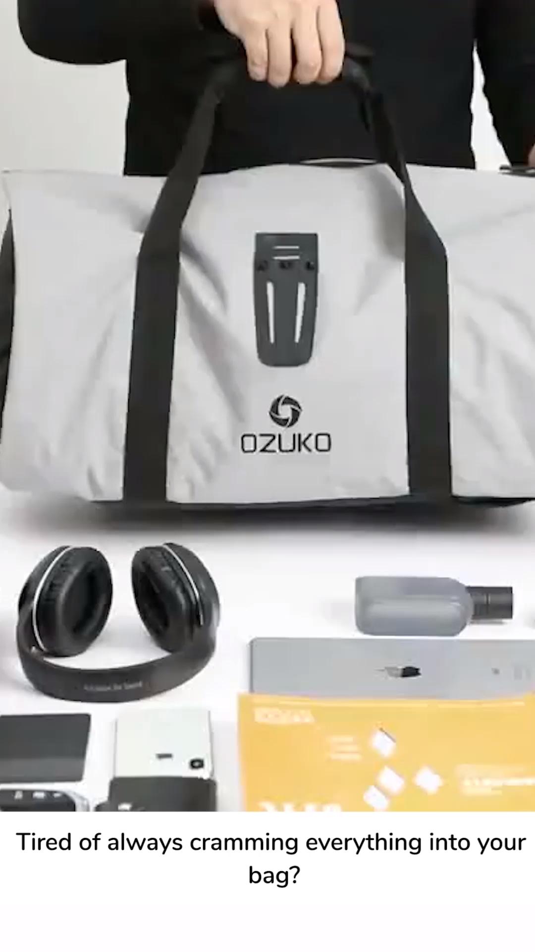 Multifunctional Luxury Travel Bag