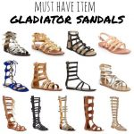 Must Have Item for Spring: Gladiator Sandals  I am looking for some with a littl...