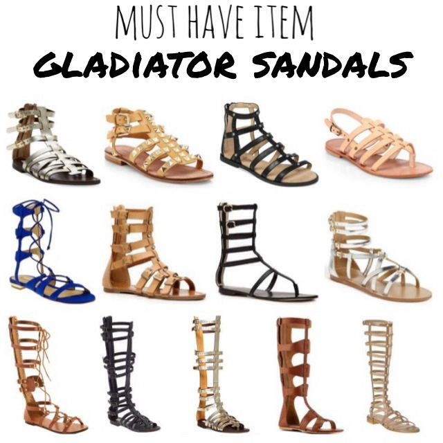 Must Have Item for Spring: Gladiator Sandals  I am looking for some with a littl…
