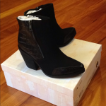 NIB Sol Sana ankle boots leather 37 New in box. Perfect to wear with shorts, ski...