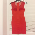 NWOT BCBG Max Azria Red Bandage Mesh Dress NWOT red hot BCBG Max Azria Bandage d...
