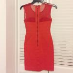 NWOT BCBG Max Azria Red Bandage Mesh Dress NWOT red hot BCBG Max Azria Bandage d...