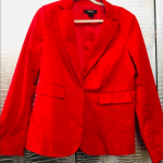 NWT 16/14 TALL Red Blazer and Pants Pantsuit set! NWT 16/14 TALL Red Blazer and ...