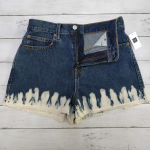 NWT Gap 28P Super High Rise Cutoff Shibori Shorts Gap 28 Petite Super High Rise ...