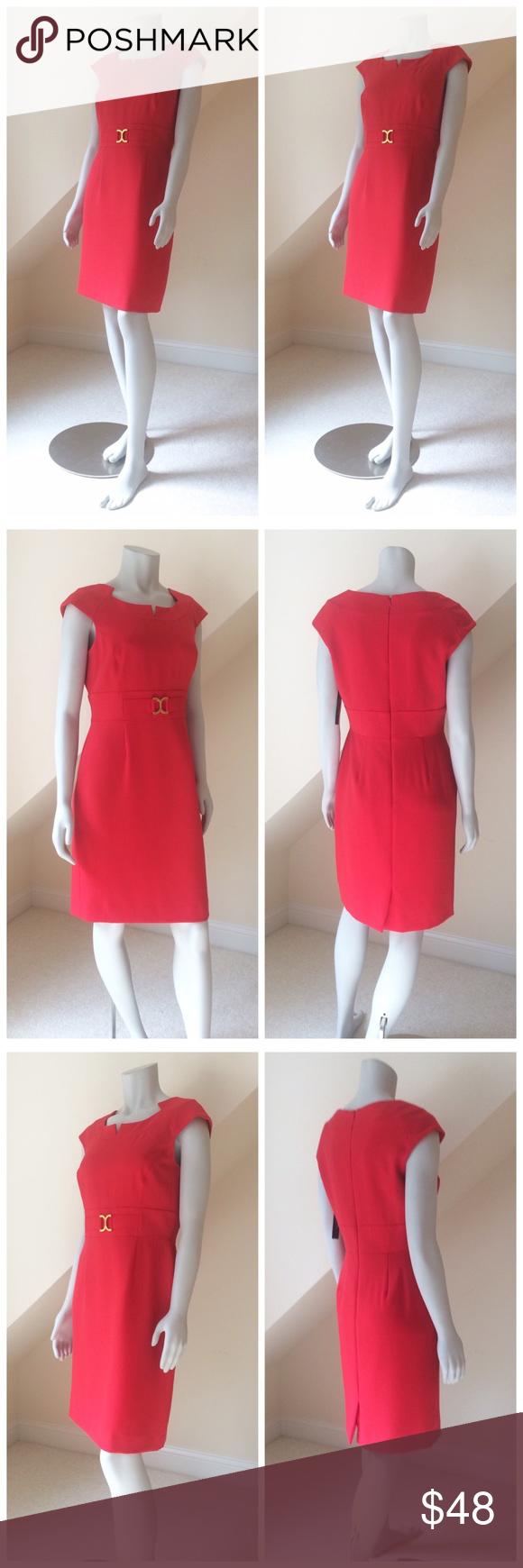 NWT Tahari-Levine Studio Career Dress NWT Tahari-Levine Studio Career Dress…pe…