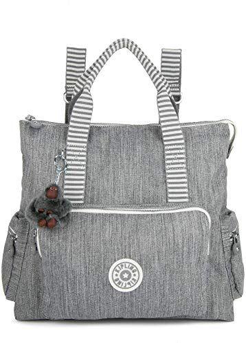New Kipling Women's Alvy 2-in-1 Convertible Tote Bag Backpack, Wear 2 Ways, Zip …