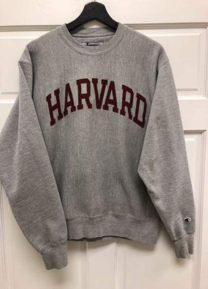 New Sweatshirt Outfit Harvard Ideas