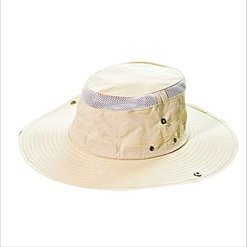 New ZAAQ Bucket Hats Men Women Summer Panama Hat Outdoor Fishing Wide Brim Hat Uv Protection Cap Men Sombrero online