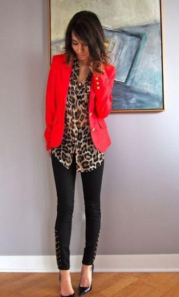 New how to wear red blazer tips 36 ideas