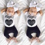 Newborn Infant Baby Boys Girls Bodysuit Romper Jumpsuit Outfits Sunsuit Clothes