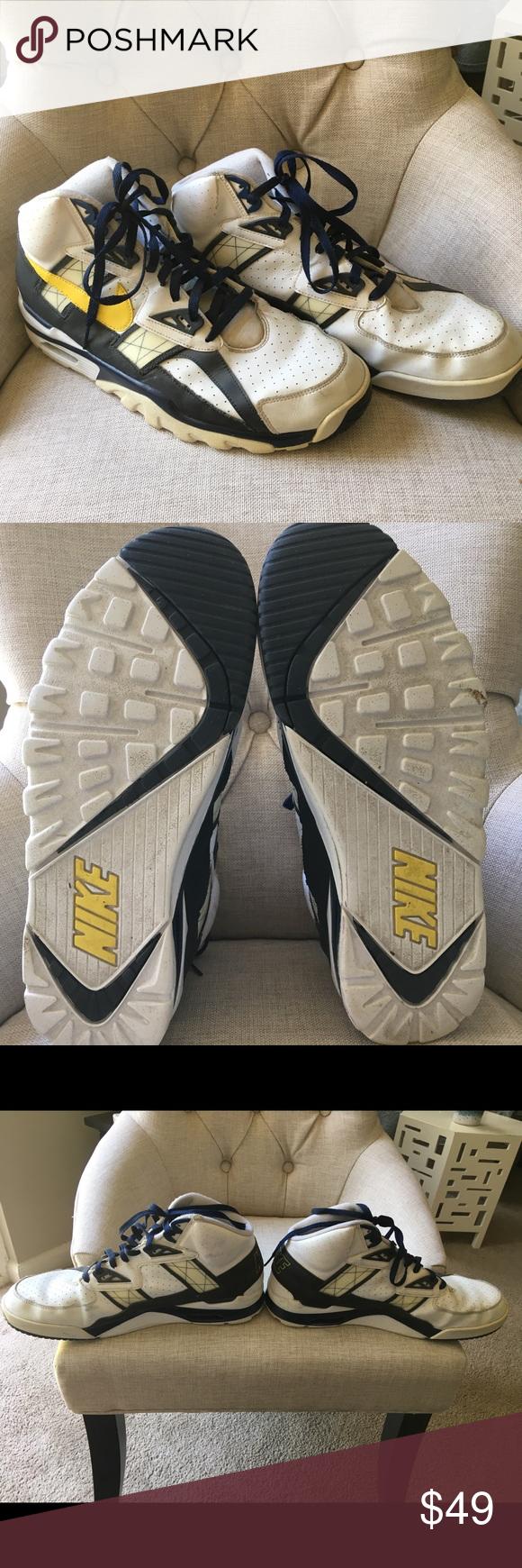 Nike Bo Jackson Sneakers Moderate Wear/slight wear at top/ankle  Plenty of tread…