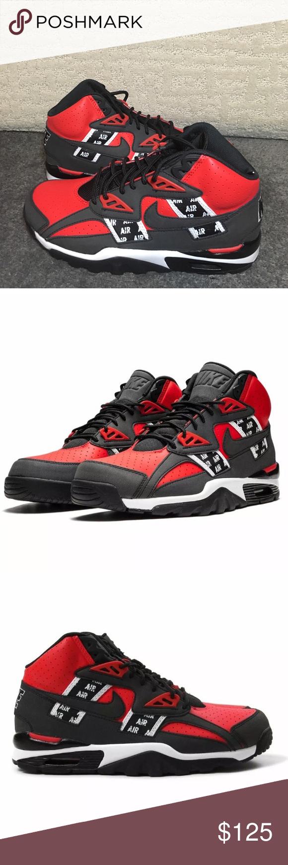 Nike Men's Air Trainer SC High Bo Jackson SOA SZ Nike Men's Air Trainer SC High …