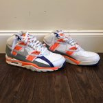 Nike Shoes | Mens Nike Air Trainer Sc Bo Jackson Sneakers | Color: Orange/White ...