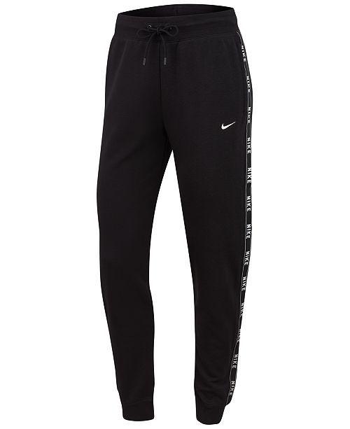 Nike Sportswear Logo Joggers – Pants & Capris – Women – Macy's