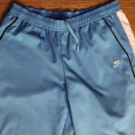 Nike Sz M Blue and White Track Pants *7S* Track Pants with Pockets from Nike GUC...